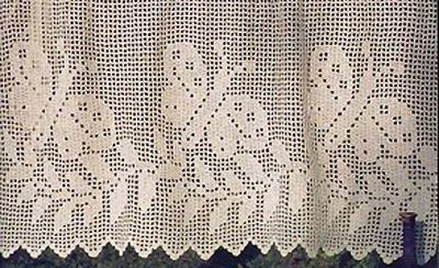 Crochet Curtains on Pinterest | Filet Crochet, Crochet