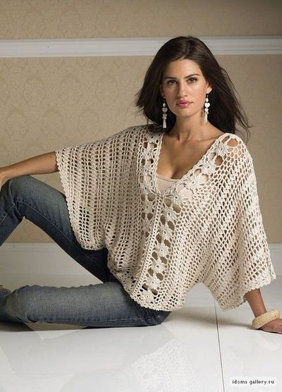 Cream Top free crochet graph pattern / crochet ideas and ...