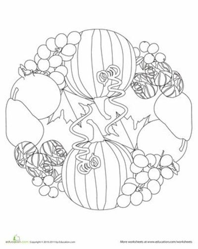 Worksheets Fall Mandala Thanksgiving Ideas Juxtapost Fall Mandala Coloring Pages