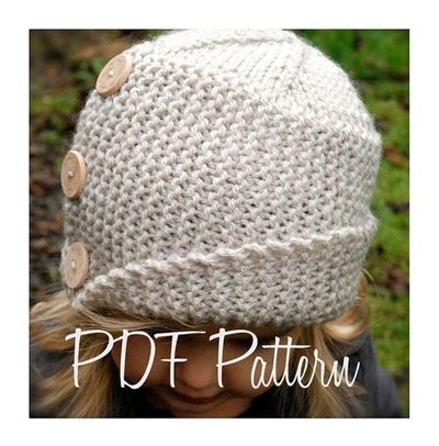 Knitting Pattern The Piper Cloche Knits And Kits Juxtapost