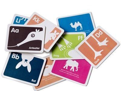 Alphabet flash cards, $35 Bob's Your Uncle store
