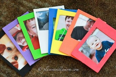 Family Photo Frames for your toddler!