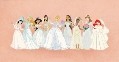 Disney Princess Wedding