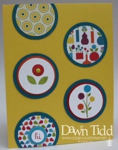 Stampin' Up! SU, Tidbits from Dawn