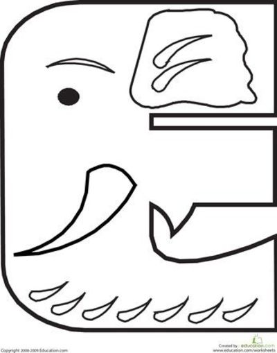 Color the Animal Alphabet Fun alphabet coloring pages ...
