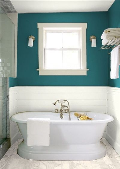 Bathroom Ideas Teal : Teal bathroom bath ideas juxtapost