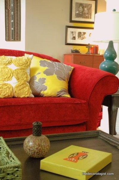 red couch yellow pillows turq lamp For the home  : l3d7a3090 d8c1 11e1 a7a1 616593300008 from www.juxtapost.com size 400 x 601 jpeg 38kB