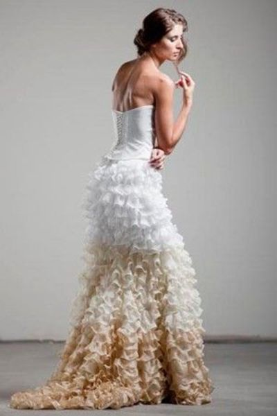 Ombre Wedding Dress Gowns