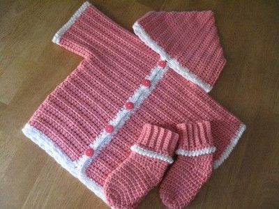 Easy quick crochet baby sweater / crochet ideas and tips ...
