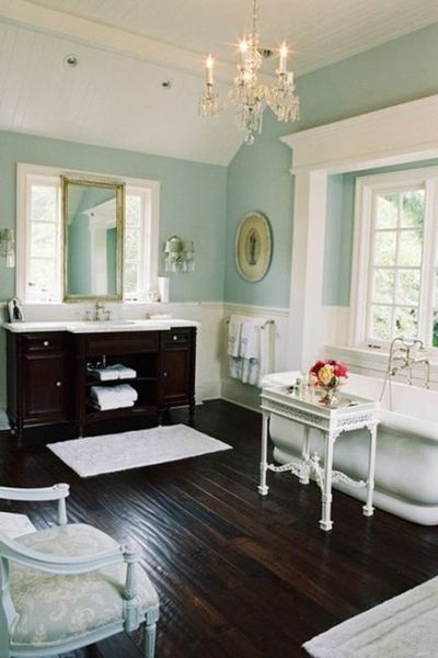 blue white and dark brown bathroom bath ideas juxtapost