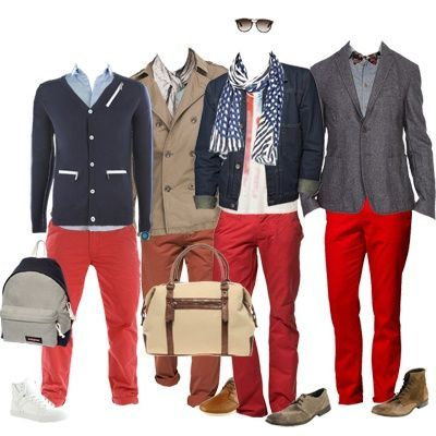 More Red Pants Outfits For Men For My Closet Juxtapost
