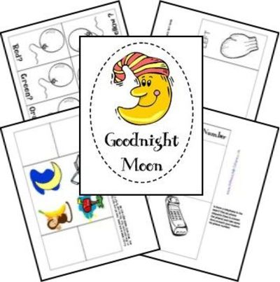 coloring pages goodnight moon - photo#25