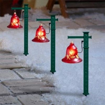 MUSICAL PATHWAY BELLS by MR CHRISTMAS ~ MUSIC & LIGHTS TO GREET YOUR FRIENDS
