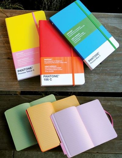 PANTONE Ruled Notebook $15