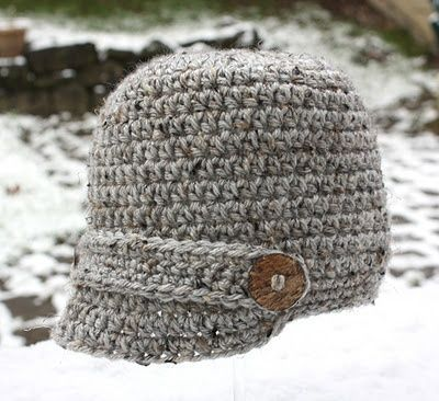 CROCHET PATTERN TOQUE - MY PATTERNS