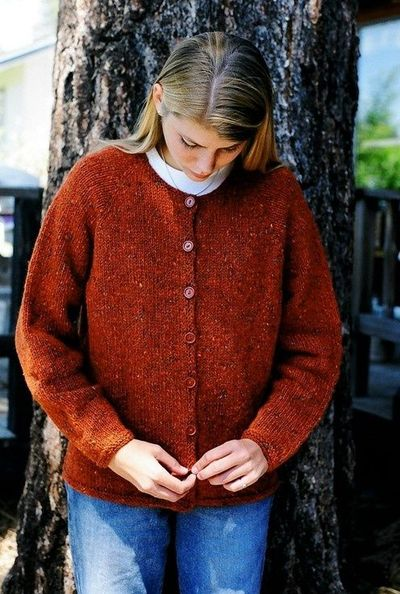 Knitting Pure and Simple--Diane Soucy--Neckdown Cardigan for Women