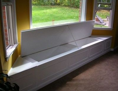 Diy Window Bench With Storage