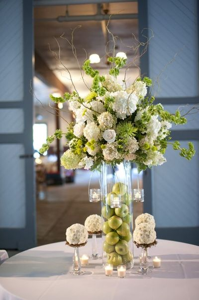 Love fruit flower centerpieces wedding juxtapost - Fabulous flower stand ideas to display your plants look more beautiful ...