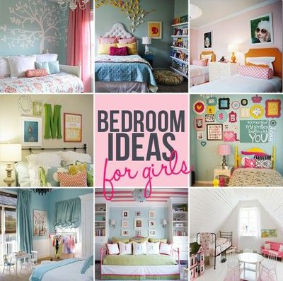 Girls bedroom ideas diy roundup diy tutorial decor for Room decor ideas step by step