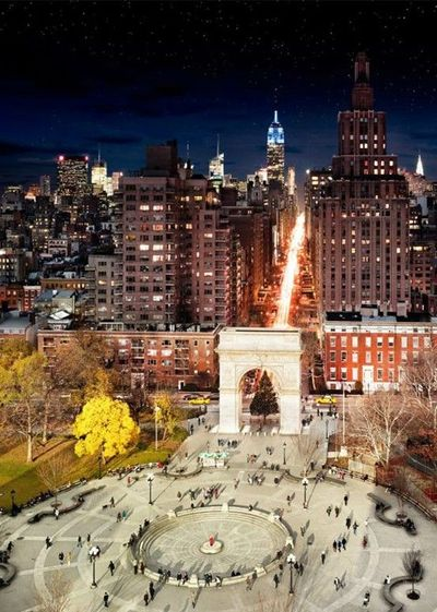 Le projet « Day to Night » de l'artiste photographe américain Stephen Wilkes