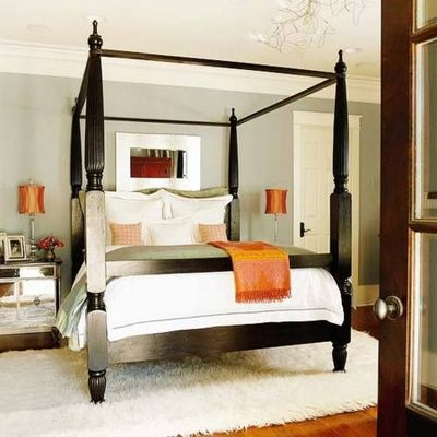 Black Four Poster Bed Glorious Bedrooms Juxtapost