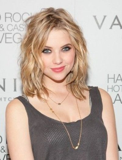 Hairstyles For Short Hair Upto Shoulders : Textured Lob (or Long Bob) / hair tips - Juxtapost
