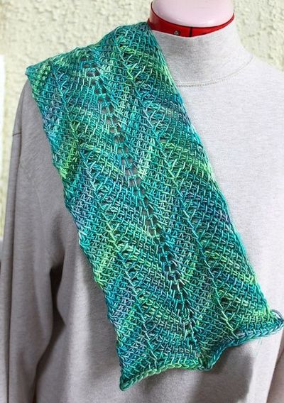 Crochet Pattern Ripple Shawl : Tunisian Crochet Ripple Scarf - free Ravelry download ...