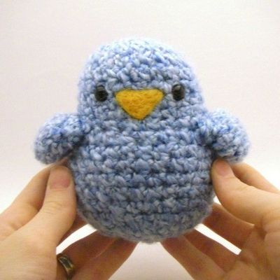 Crochet Pattern: The Fatso-Fat Birdy