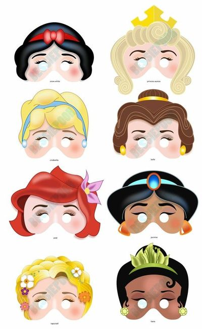 Mask printable | disney character coloring pages | niño bebé.