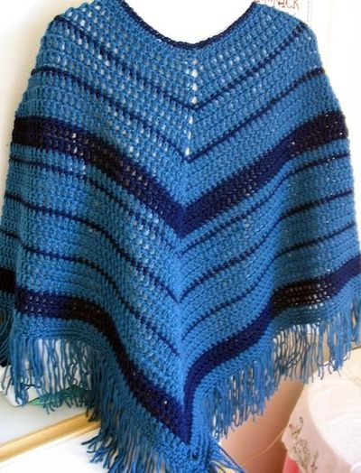 Ravelry EasyCrochet Poncho Pattern By Kathy North Crochet Ideas Stunning Crochet Poncho Pattern Ravelry