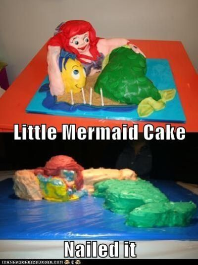 Little Mermaid: Nailed It
