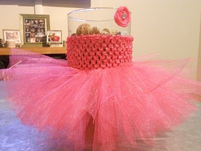 Make A Tutu Out Of A Crocheted Headband And Tulle This