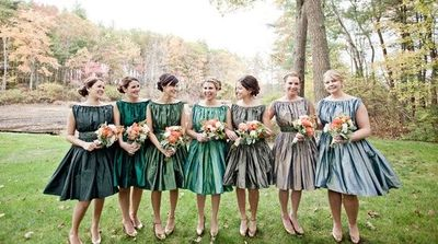 Love These Bridesmaids Dresses In Diffe Shades Of Green Photography By Http