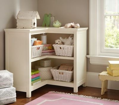 Cameron Corner Bookcase Pottery Barn Kids Baby Time