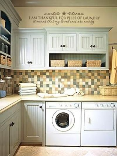 Laundry Room Quotations | House Designs