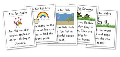 Letter Hunt worksheet printables (A to Z)