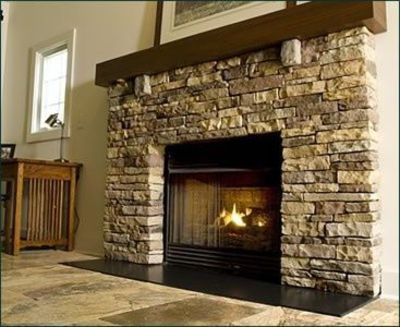 Erica Brand posted Light creamy paint color with stone fireplace to her -For the home- postboard via the Juxtapost bookmarklet.