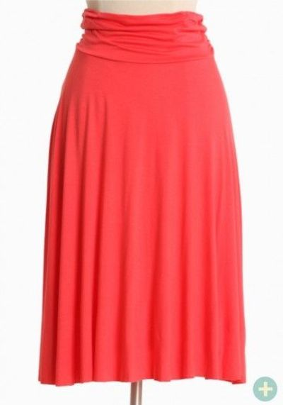 sweet summer time curvy plus skirt $22.99