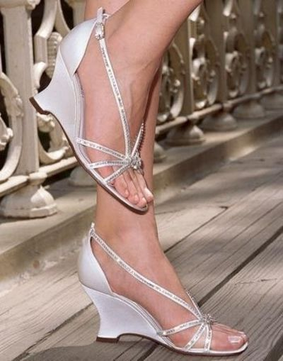 Wedge Wedding Shoes looovez