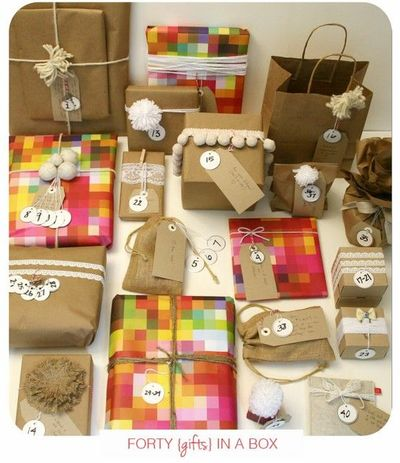 Ways To Decorate Brown Bags Brown Wrapping Paper