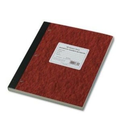 National Brand Laboratory Notebook, 4 X 4 Quad, Brown, Carbonless, 11 x 9.25 Inches, 100 Sets (43649)