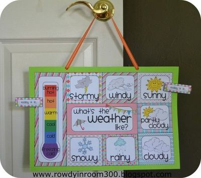 graphic relating to Weather Chart Printable identified as Temperature chartfree printable / Preschool merchandise - Juxtapost