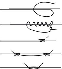 How to make sliding knots for jewelry