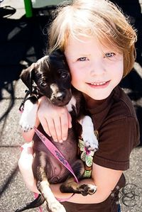 She loves that little puppy as you can very well tell! Her and her brothers and sisters have a skin tone that I love because it looks so flawless! No I did not air brush her!