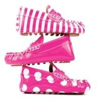 Pink Silly Soles Baby Shoes