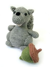 Ravelry: Murray the Squirrel pattern by Stacey Trock