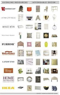 ROOST: 10 Resources for Affordable Decor