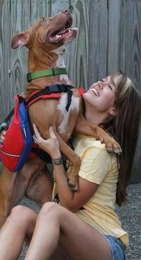 Saving Sunny, Inc. is named in honor of Sunny the pit bull who, in July 2009, was thrown from the Clark Memorial Bridge and miraculously survived the 80ft. drop into the Ohio River. Sunny's story is an inspirational example of a dog's strength...