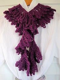 Liliaceous Scarf Free Pattern and Tutorial
