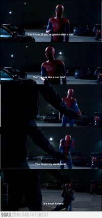 Spiderman! One of my favorite scenes!!